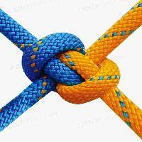 #实用绳结#双套无绳尾的称人结