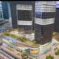 这里就是杭州,2022年开亚运会的地方了,周边的地标建筑还在加紧建设当中!