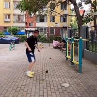 #拳击教学#拳王洛马琴科的打靶训练